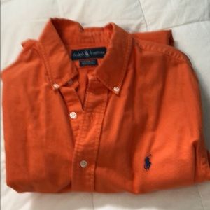 Other - Ralph Lauren Button down, orange